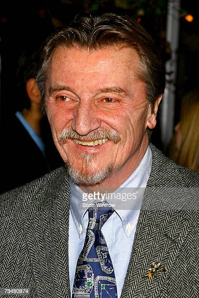 Actor Larry Bryggman attends the postperformance party of the opening night of King Lear at BBar March 4 2007 in New York City