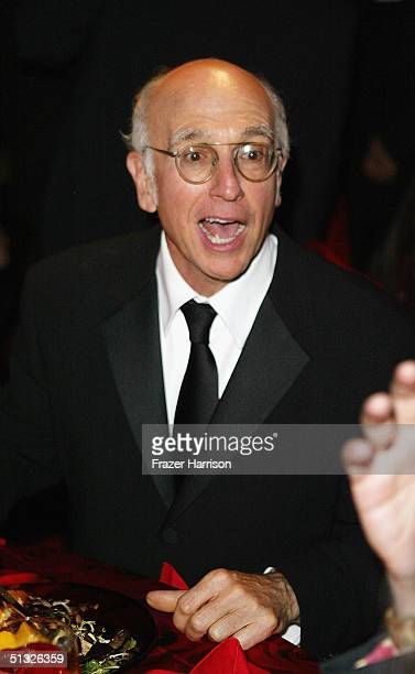Actor Larry David attends the HBO post Emmy party following the 56th annual primetime Emmy Awards held at the Pacific Design Centre, on September 19,...