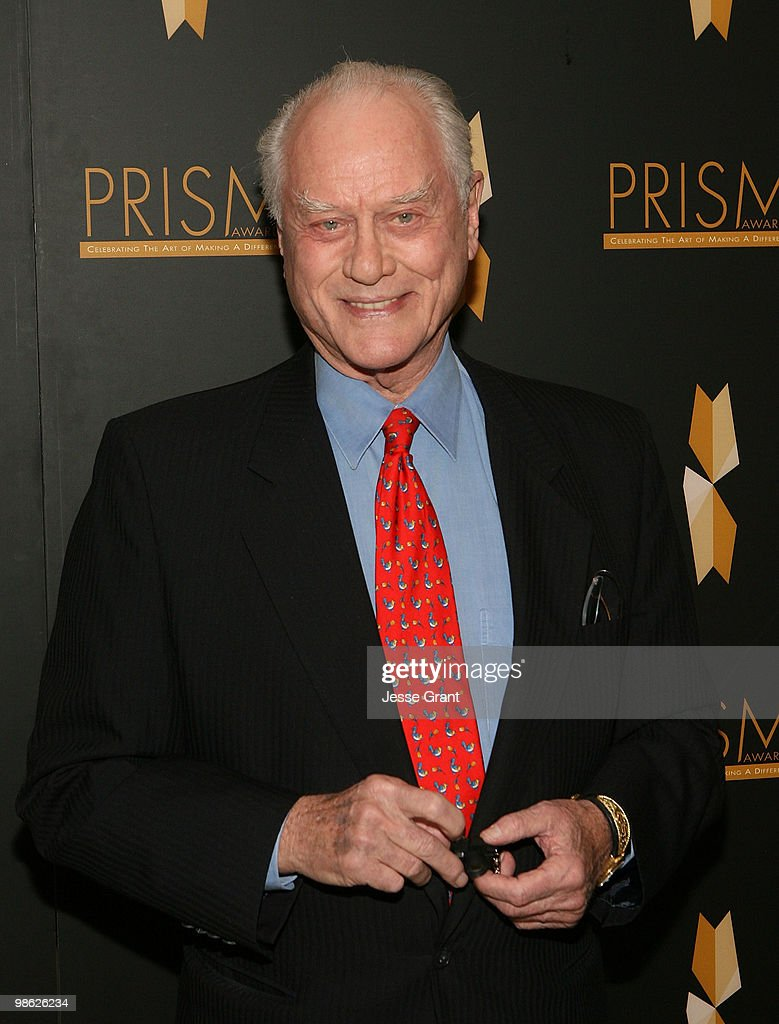 Actor Larry Hagman arrives to the 14th Annual Prism Awards at the Beverly Hills Hotel on April 22, 2010 in Beverly Hills, California.