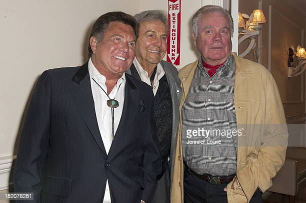 Actor Larry Manetti actor Mike Connors and actor Robert Wagner attend the 16th Annual Silver Spur Awards hosted by The Reel Cowboys at The...