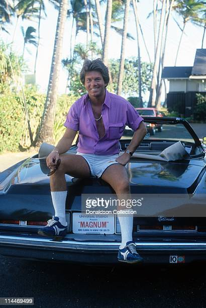 Actor Larry Manetti poses for a portrait in circa 1985 in Los Angeles California