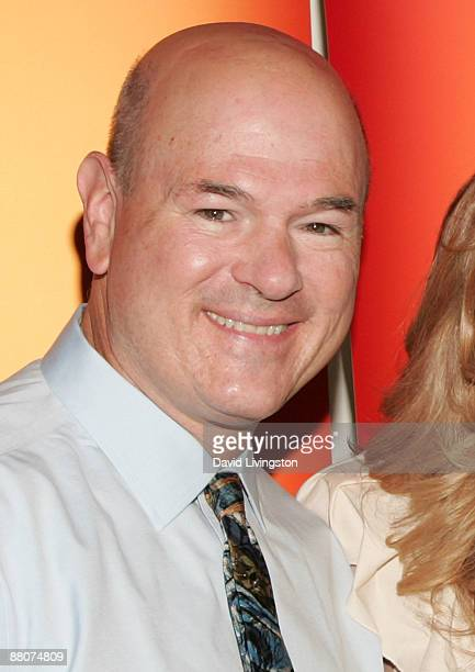 Actor Larry Miller from the television show '10 Things I Hate About You' attends the 2009 Disney ABC Television Group summer press junket at the Walt...