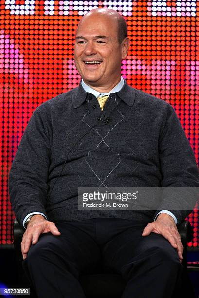 Actor Larry Miller speaks onstage at the ABC '10 Things I Hate About You' QA portion of the 2010 Winter TCA Tour day 4 at the Langham Hotel on...