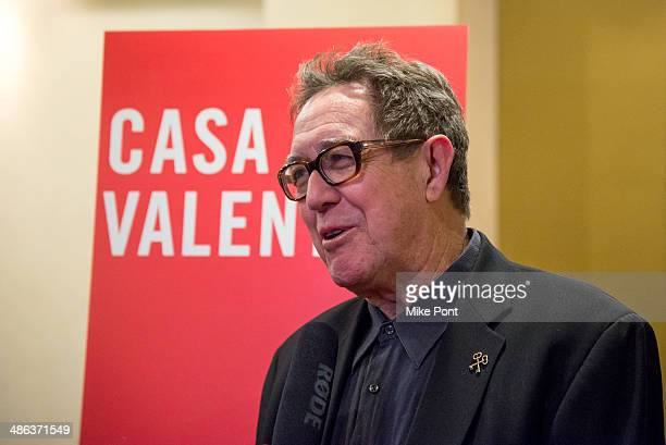 Actor Larry Pine attends the after party for the Broadway opening night for Casa Valentina at Copacabana on April 23 2014 in New York City