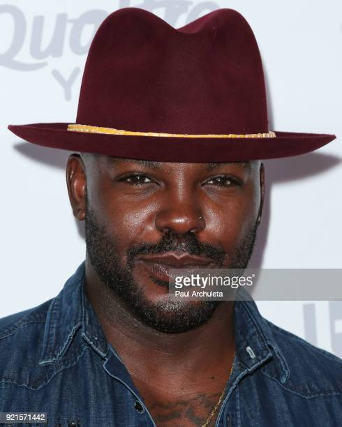 Actor Larry Sims attends OK Magazine's Summer kickoff party at The W Hollywood on May 17 2017 in Hollywood California