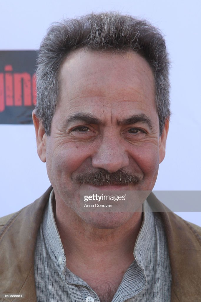 Actor Larry Thomas attends the Los Angeles premiere of the movie 'Changing Hands' at The Happy Ending Bar & Restaurant on February 24, 2013 in Hollywood, California.