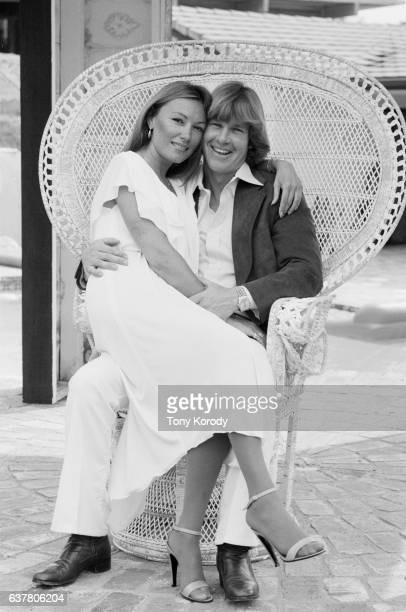 Actor Larry Wilcox with his wife Hannie Strasser