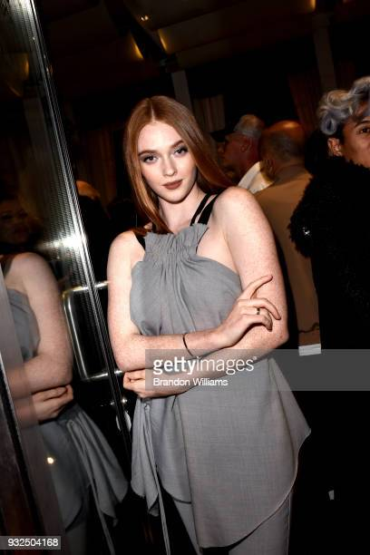 Actor Larsen Thompson attends the Bello Style Magazine release party at IceLink Showroom on March 14 2018 in West Hollywood California