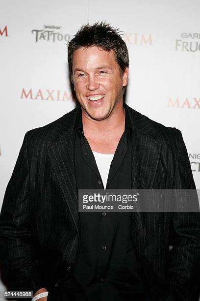 """Actor Laughlin Munro arrives at the celebrity party to celebrate the 2005 Maxim """"Hot 100"""" List."""