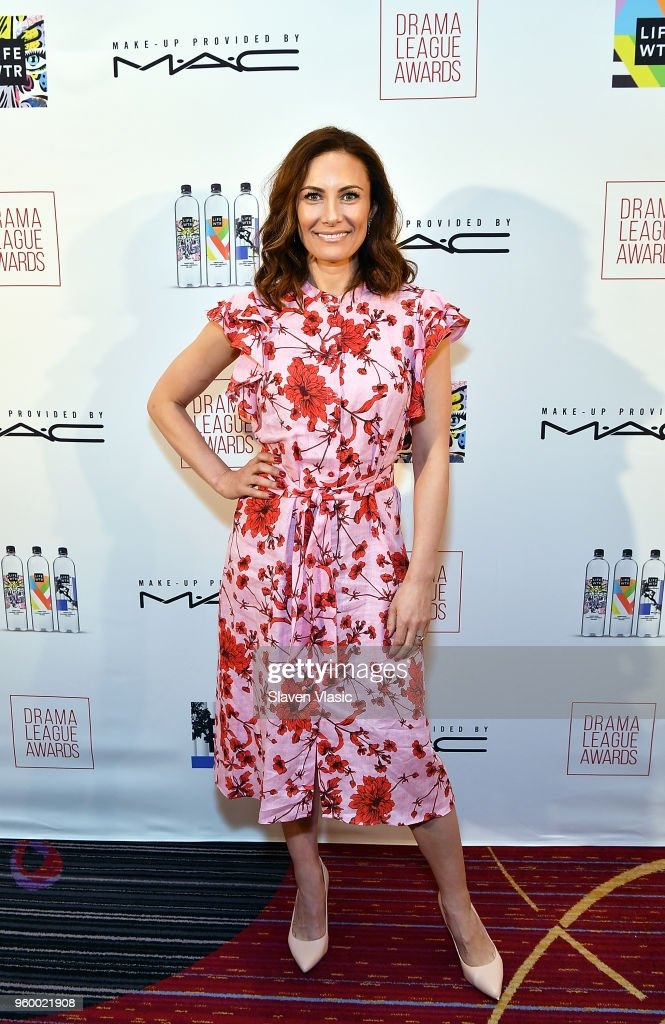Actor Laura Benanti attends 84th Annual Drama League Awards at Marriott Marquis Times Square on May 18, 2018 in New York City.