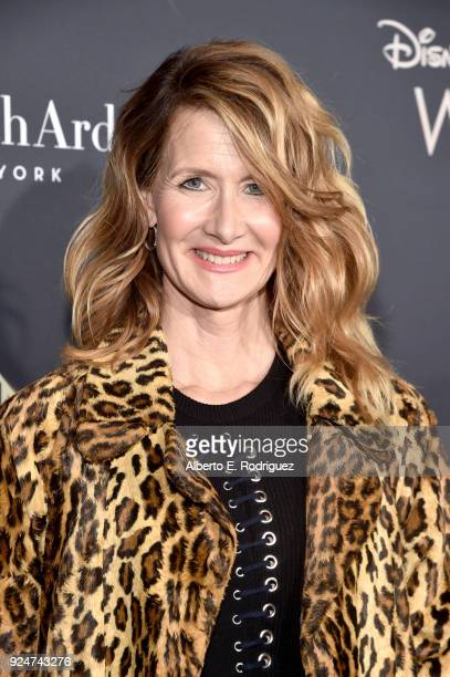 Actor Laura Dern arrives at the world premiere of Disney's 'A Wrinkle in Time' at the El Capitan Theatre in Hollywood CA March 26 2018