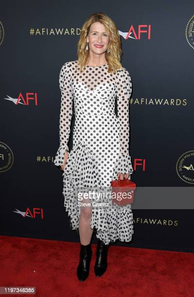 Actor Laura Dern attends the 20th Annual AFI Awards at Four Seasons Hotel Los Angeles at Beverly Hills on January 03 2020 in Los Angeles California