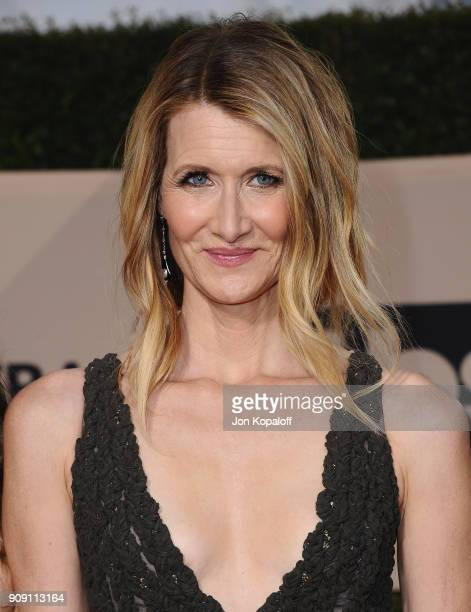 Actor Laura Dern attends the 24th Annual Screen Actors Guild Awards at The Shrine Auditorium on January 21 2018 in Los Angeles California