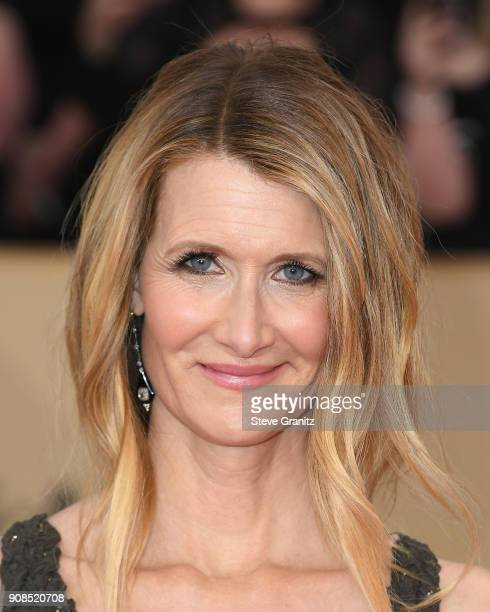 Actor Laura Dern attends the 24th Annual Screen ActorsGuild Awards at The Shrine Auditorium on January 21 2018 in Los Angeles California