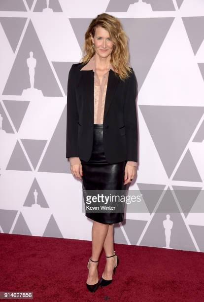 Actor Laura Dern attends the 90th Annual Academy Awards Nominee Luncheon at The Beverly Hilton Hotel on February 5 2018 in Beverly Hills California