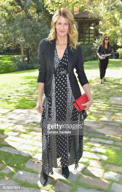 Actor Laura Dern attends the DVF Oscar Luncheon Honoring The Female Nominees Of The 90th Academy Awards on February 28 2018 in Beverly Hills...