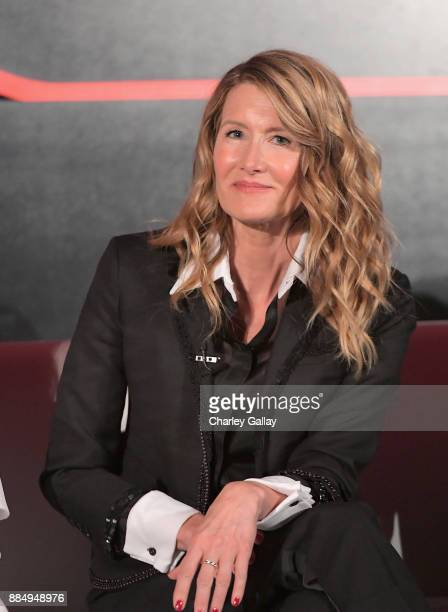 Actor Laura Dern attends the press conference for the highly anticipated Star Wars The Last Jedi at InterContinental Los Angeles on December 3 2017...