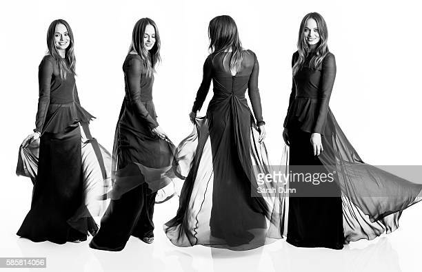 Actor Laura Haddock is photographed for Empire magazine on March 24 2013 in London England