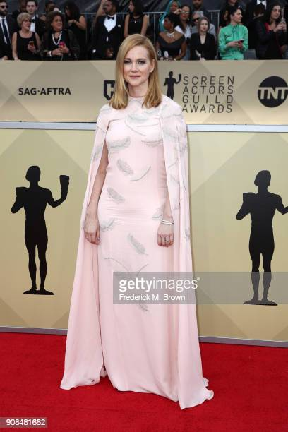 Actor Laura Linney attends the 24th Annual Screen Actors Guild Awards at The Shrine Auditorium on January 21 2018 in Los Angeles California 27522_017