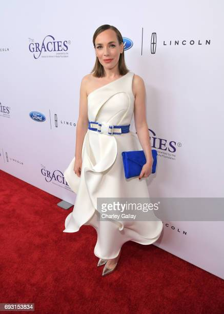 Actor Laura Main attends the 42nd Annual Gracie Awards Gala hosted by The Alliance for Women in Media at the Beverly Wilshire Hotel on June 6 2017 in...