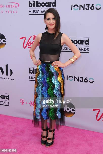 Actor Laura Marano attends the 2017 Billboard Music Awards at TMobile Arena on May 21 2017 in Las Vegas Nevada