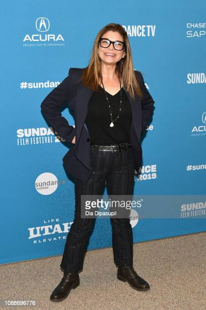 Actor Laura San Giacomo attends the Honey Boy Premiere during the 2019 Sundance Film Festival at Eccles Center Theatre on January 25 2019 in Park...