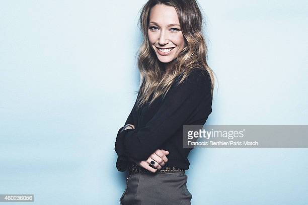 Actor Laura Smet is photographed for Paris Match on November 17 2014 in Paris France