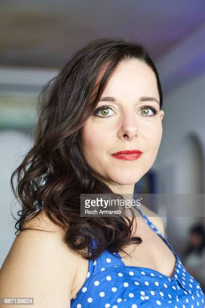 Actor Laure Calamy is photographed on May 21, 2017 in Cannes, France.