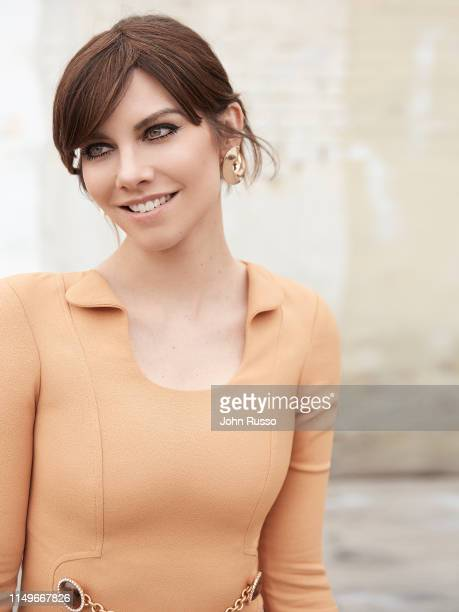 Actor Lauren Cohan is photographed for Gio Journal on March 1, 2019 in Los Angeles, California.