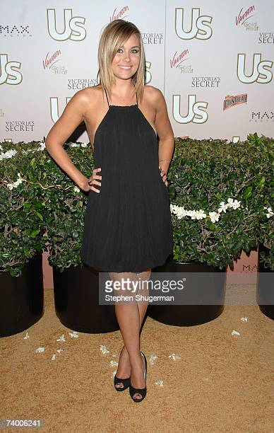 Actor Lauren Conrad attends the Us Hollywood 2007 Party at Sugar on April 26 2007 in Hollywood California
