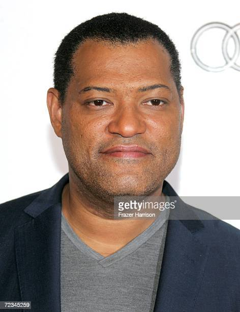 Actor Laurence Fishburne arrives at the AFI FEST presented by Audi opening night gala of Bobby at the Grauman's Chinese Theatre on November 1 2006 in...