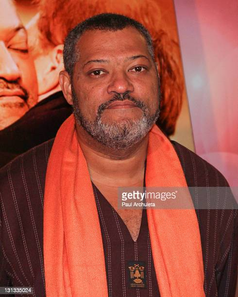 Actor Laurence Fishburne arrives at the premiere of 'Have A little Faith' at Fox Studio Lot on November 3 2011 in Century City California