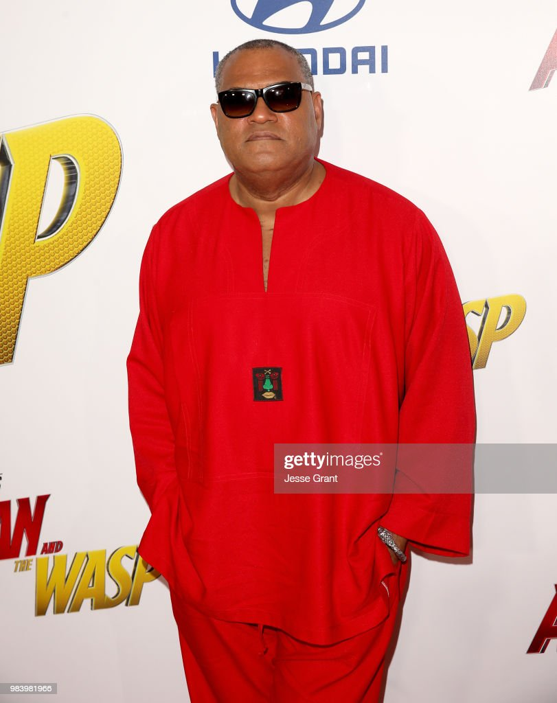 Actor Laurence Fishburne attends the Los Angeles Global Premiere for Marvel Studios' 'Ant-Man And The Wasp' at the El Capitan Theatre on June 25, 2018 in Hollywood, California.