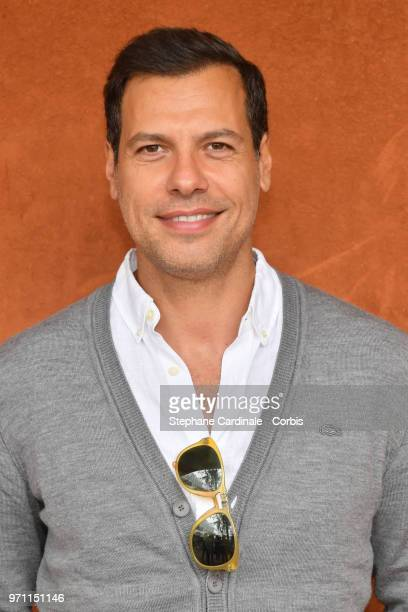Actor Laurent Lafitte attends the Men Final of the 2018 French Open Day Fithteen at Roland Garros on June 10 2018 in Paris France