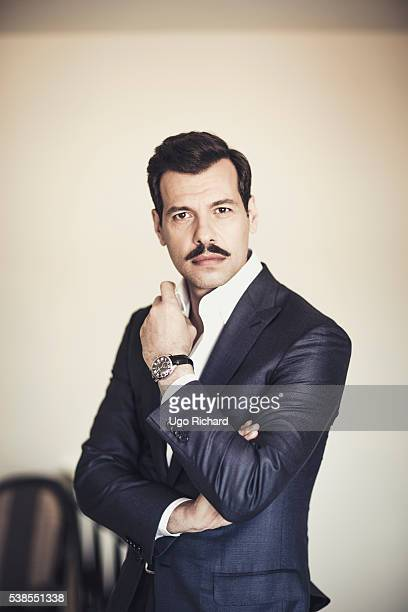 Actor Laurent Lafitte is photographed for Gala on May 15 2016 in Cannes France