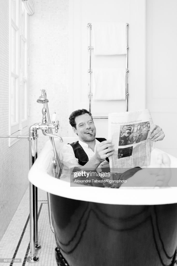 Celebrities in the Bath, Madame Figaro, March 3, 2017