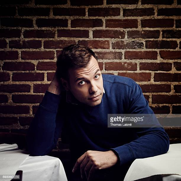 Actor Laurent Lafitte is photographed for Self Assignment on November 12 2012 in Paris France