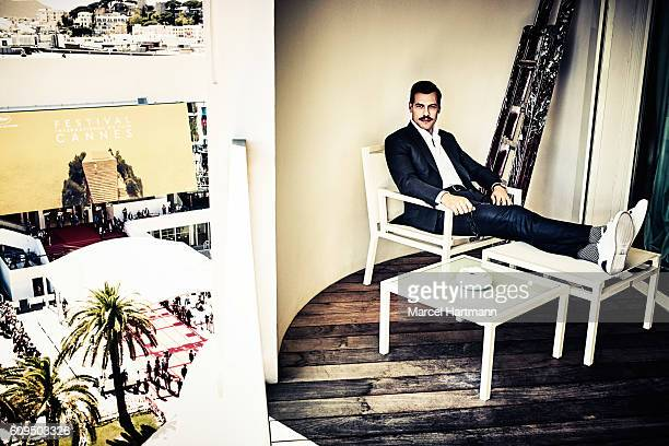 Actor Laurent Lafitte is photographed for Vanity Fair Italy on May 12 2016 in Cannes France