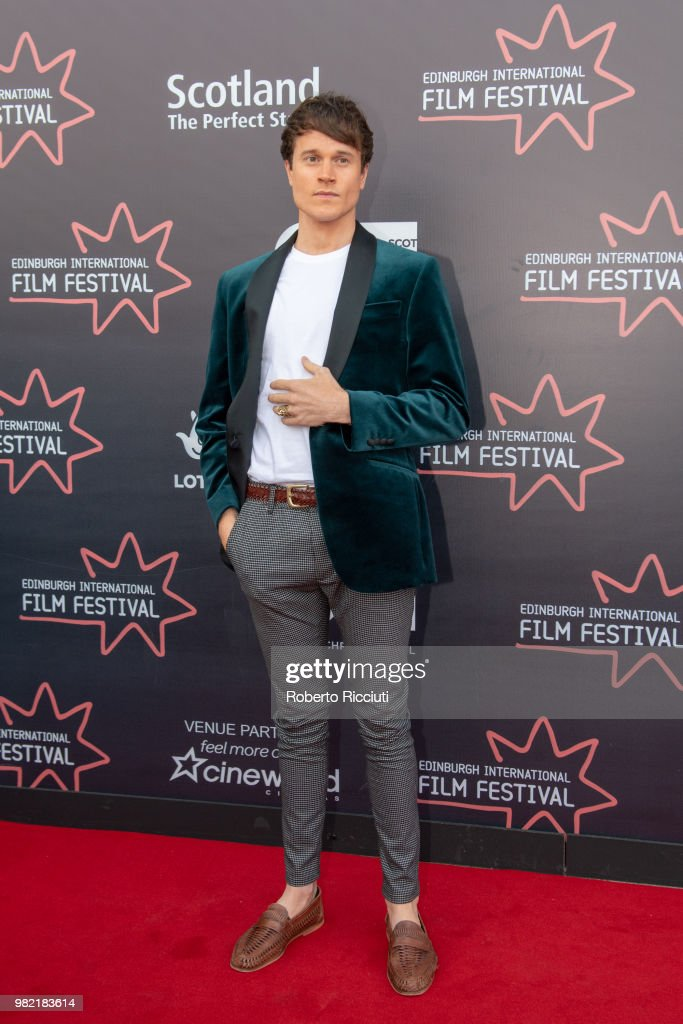 Actor Laurie Calvert attends a photocall for the World Premiere of 'Lucid' during the 72nd Edinburgh International Film Festival at Cineworld on June 23, 2018 in Edinburgh, Scotland.