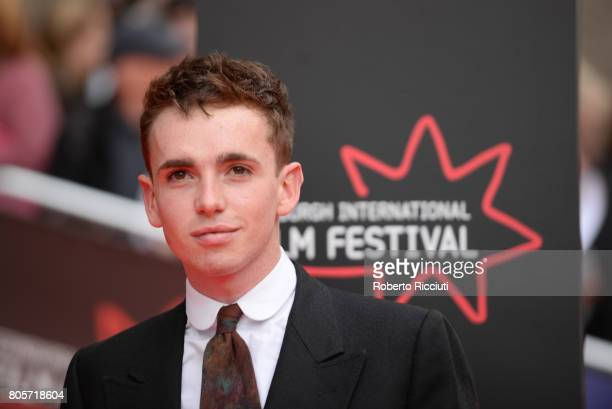 Actor Laurie Kynaston attends the world premiere for 'England is mine' and closing event of the 71st Edinburgh International Film Festival at...