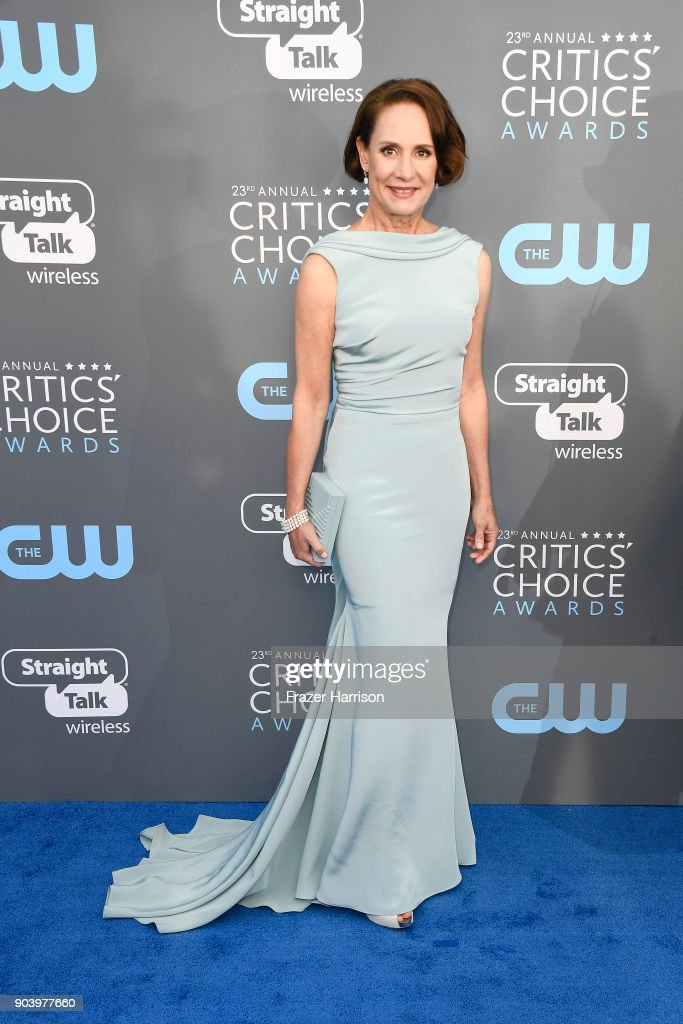 Actor Laurie Metcalf attends The 23rd Annual Critics' Choice Awards at Barker Hangar on January 11, 2018 in Santa Monica, California.