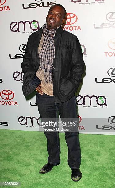 Actor LaVar Burton attends the 20th annual Enviornmental Media Association Awards at Warner Brothers Studios on October 16 2010 in Burbank California
