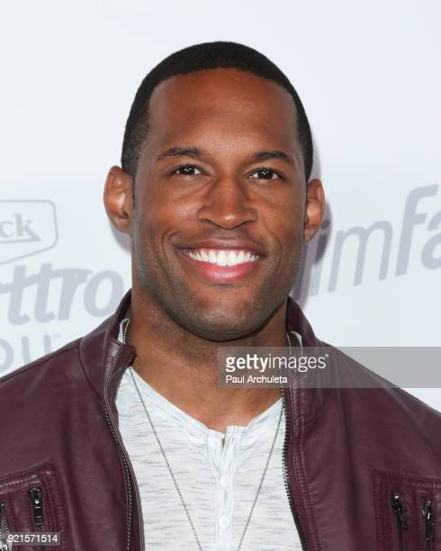 Actor Lawrence SaintVictor attends OK Magazine's Summer kickoff party at The W Hollywood on May 17 2017 in Hollywood California
