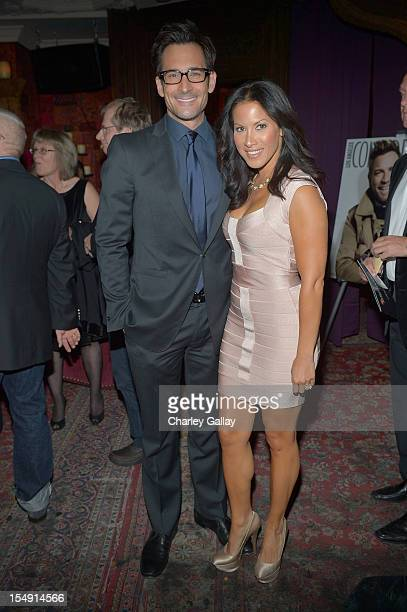 Actor Lawrence Zarian and Jennifer Dorogi attend The 6th Annual Hamilton Behind The Camera Awards presented by Hamilton Watches and Los Angeles...