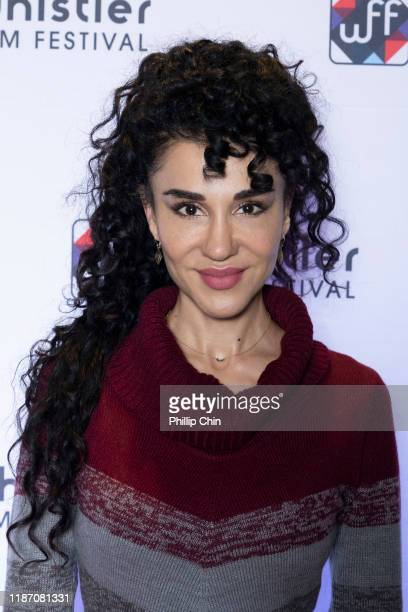Actor Layla Alizada attends the red carpet for her film The Cuban at the Maury Young Arts Centre during the 2019 Whistler Film Festival on December 7...