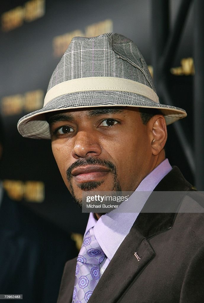 Actor Laz Alfonso arrives at the premiere of Screen Gem's 'Stomp The Yard' at the Cinerama Dome on January 8, 2007 in Los Angeles, California.