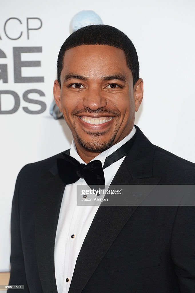 Actor Laz Alonso arrives at the 44th NAACP Image Awards held at The Shrine Auditorium on February 1, 2013 in Los Angeles, California.
