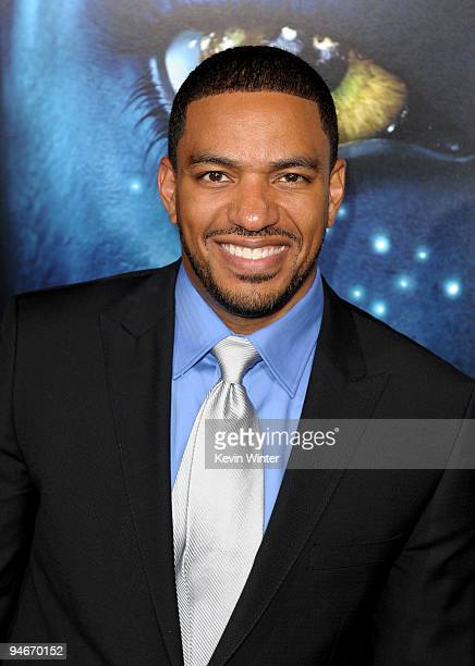 Actor Laz Alonso arrives at the premiere of 20th Century Fox's Avatar at the Grauman's Chinese Theatre on December 16 2009 in Hollywood California