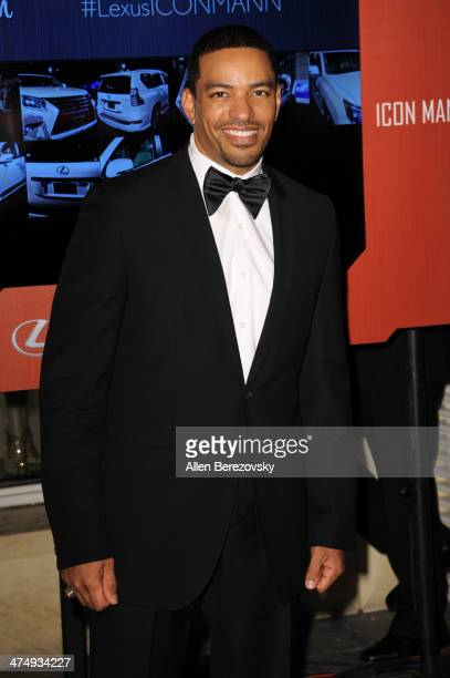 Actor Laz Alonso attends Icon Mann's 2nd Annual Power 50 PreOscar dinner at Peninsula Hotel on February 25 2014 in Beverly Hills California