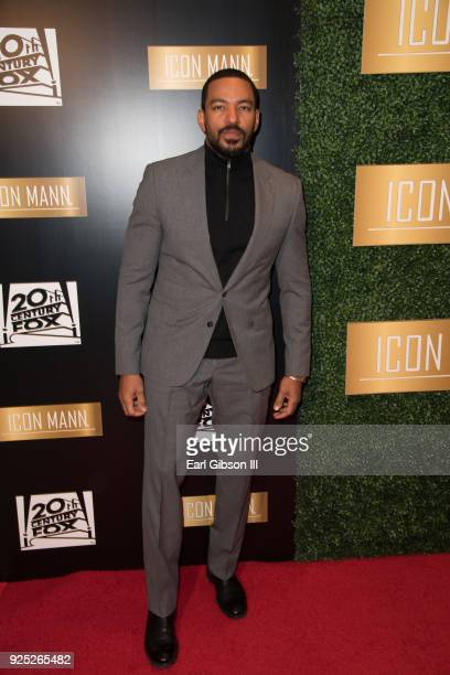 Actor Laz Alonso attends ICON MANN's 6th Annual PreOscar Dinner at the Beverly Wilshire Four Seasons Hotel on February 27 2018 in Beverly Hills...